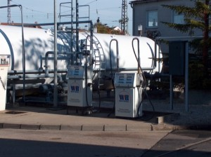 Unsere Endverbraucher-Tankstelle in Bamberg